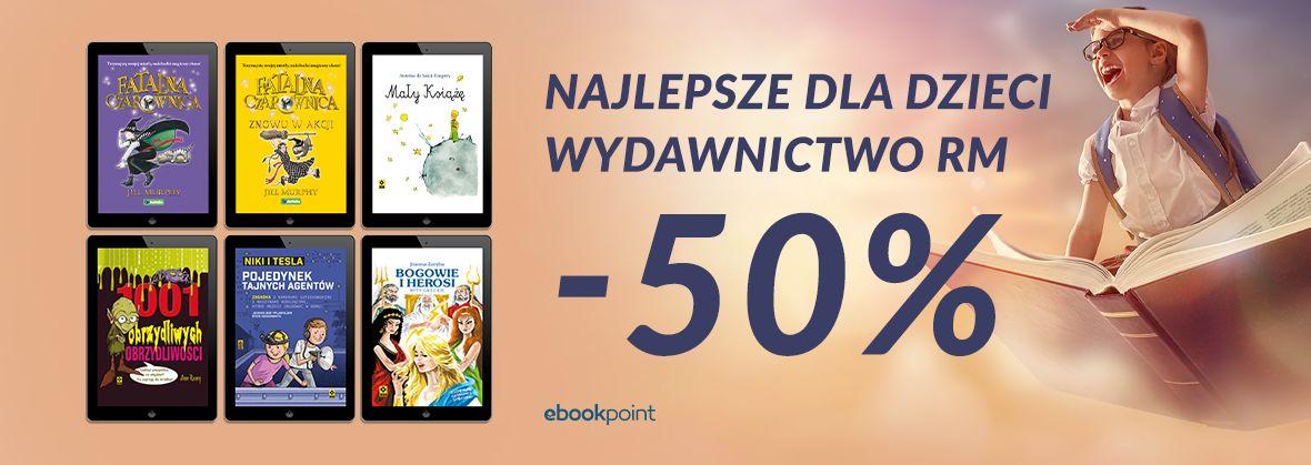 Promocja na ebooki Najlepsze dla dzieci / -50%